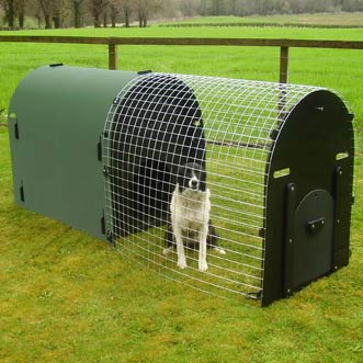 Deluxe Dog Kennel And Run