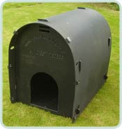 Standard Dog Kennel Black