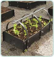 Inter Raised Bed With Frame