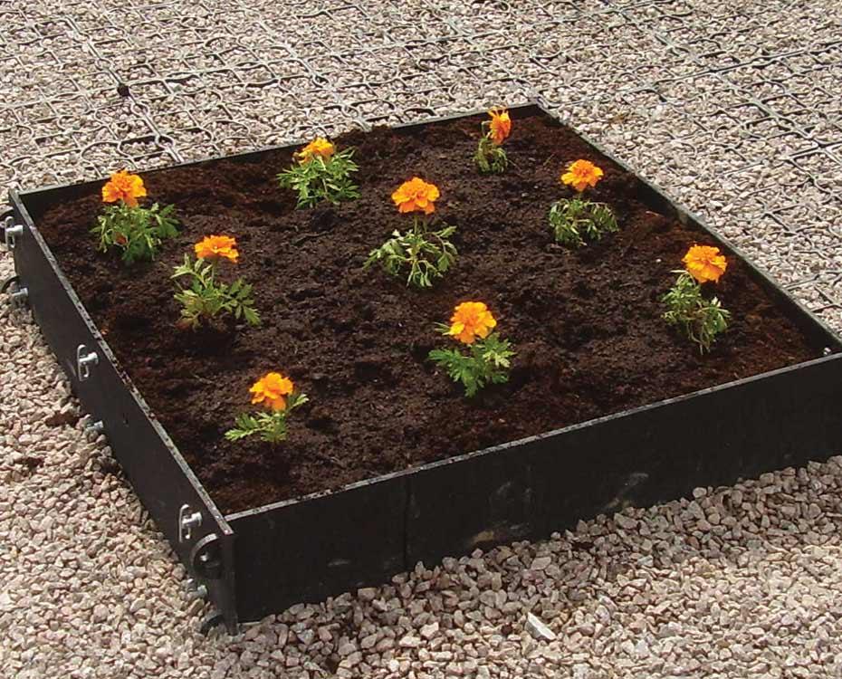 Plastic Raised Garden Bed Raised Bed Garden Planter