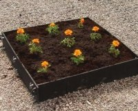 recycled plastic standard raised beds individual