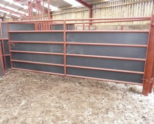 recycled plastic stockbord stokbord gate sheets