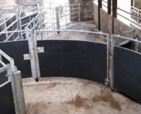 recycled plastic stokbord cattle race sheeting