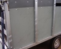recycled plastic trailer sheets for sale