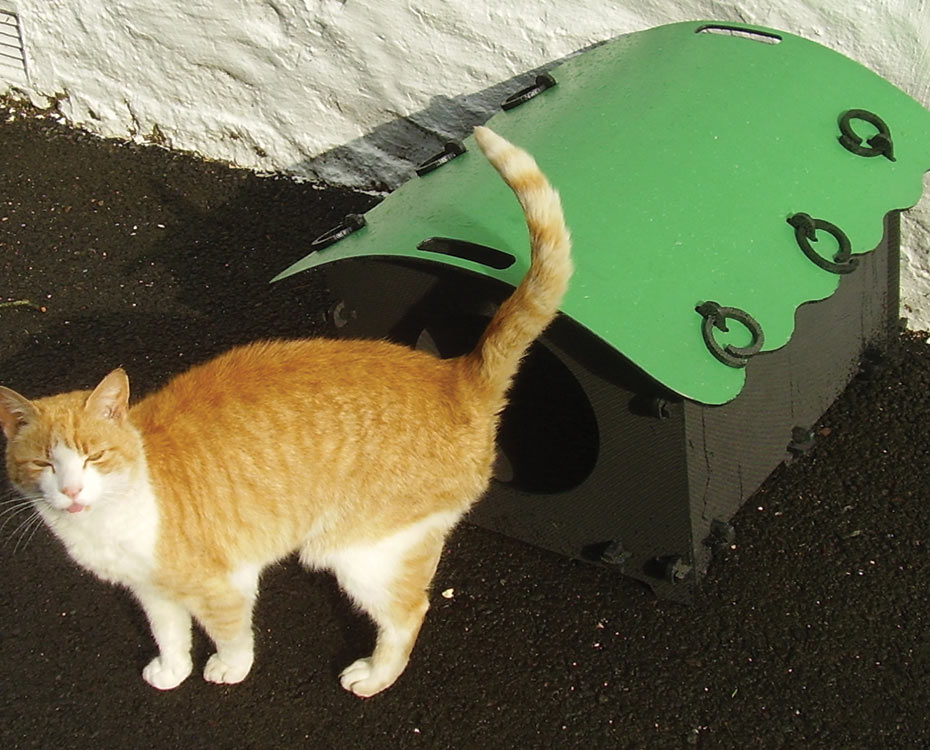 Plastic Cat House For Sale Solway Recycling