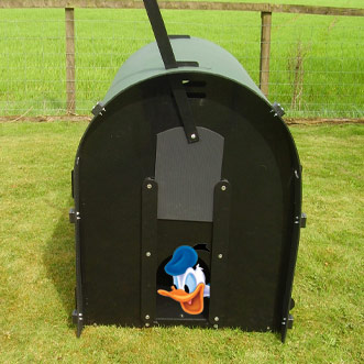 solway products duck housing recycled plastic duck house
