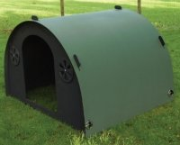 plastic field shelter for goats large animals