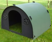 recycled plastic lamb field shelter