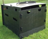 recycled plastic outdoor sheep pens with full roof inter size