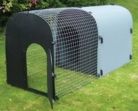 deluxe monster dog kennel with run