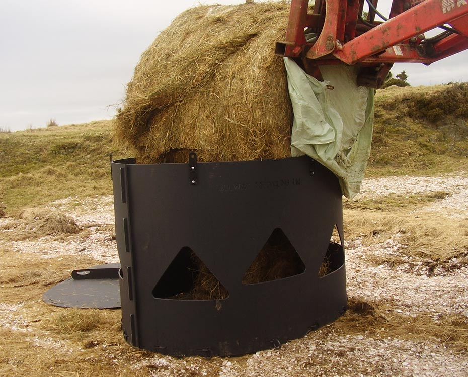 Monster Big Bale Hay Feeder | Recycled Plastic Hay Feeder