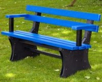 2 Spar Bench with Arm Rests