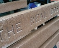 personalised bench table inscribing wording for solway tables benches
