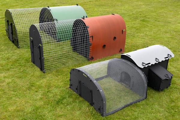 pig poultry housing made from recycled plastic