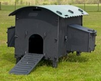 Solway Maxi Hen Loft with green roof
